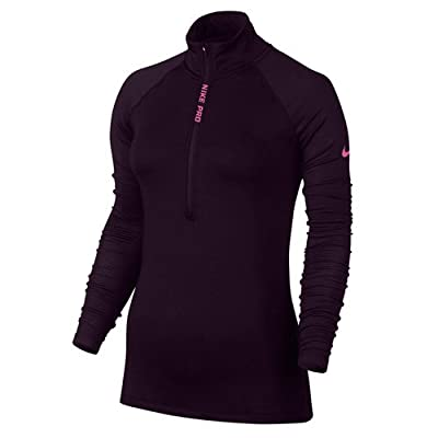 Nike Damen W Np Hyperwarm Ls Hz Langarm Trainingsoberteil
