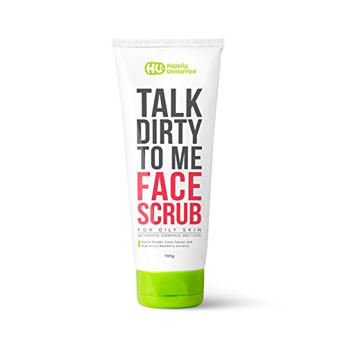 Happily Unmarried Face Scrub Oily Skin, 100g