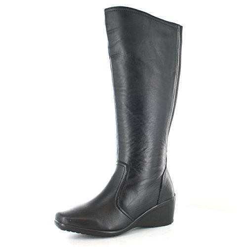<span class='b_prefix'></span> Gluv Continent Ladies Leather Knee High Boot