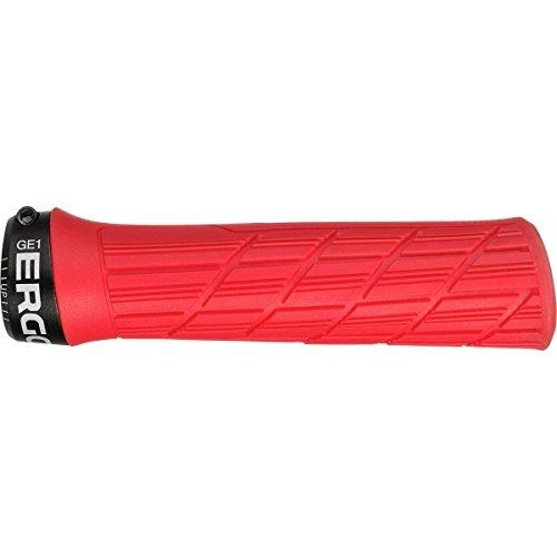 Ergon GE1 Evo Slim Rouge Grip de VTT et de Vélo Adulte Unisexe, Taille Unique