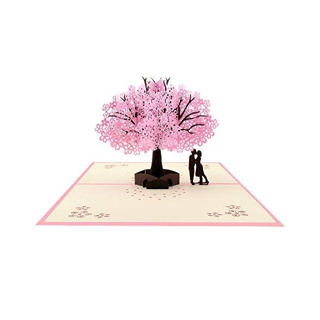 Joyeux Anniversaire Poplife Cards Bouquet De Fleurs Et Vase