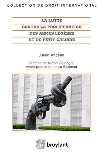 LUTTE PROLIFERATION ARMES
