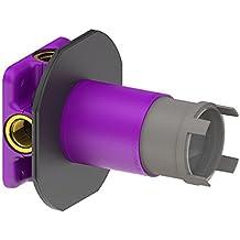 schmiedl Maravillas Caja rasante–Cuerpo de montaje universal con profundidad de montaje de 42mm para grifos, termostatos, válvulas