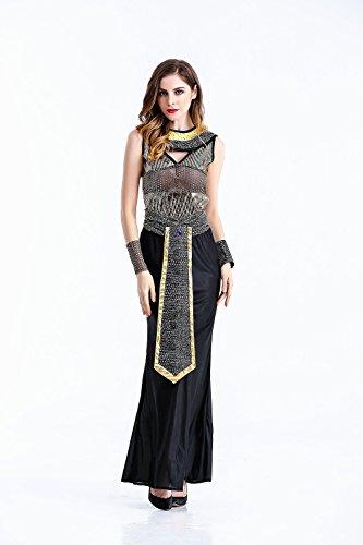 Imagen de crazysell secuaces halloween adulto egipto reina zombi novia cadáver bloody novio disfraz vestido de novia para mujer alternativa