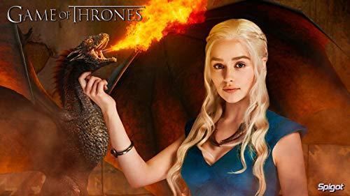 bubbleshirt Poster Khaleesi Trono di Spade Game of Thrones - Carta di Alta...
