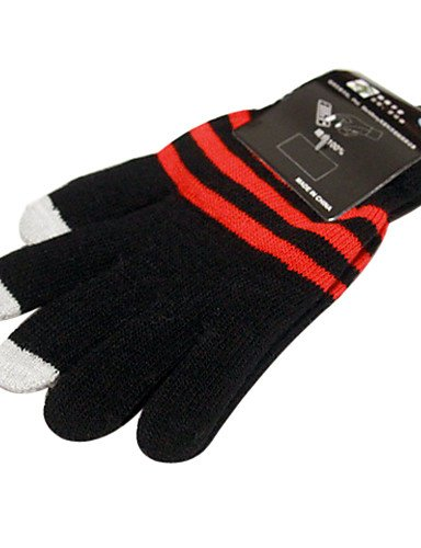 zzll151 Damen Woolen Magic Touch-Screen Handschuhe für iPhone, iPad und All Touchscreen Devices KKKAOOL (Color Magic-handschuhe)