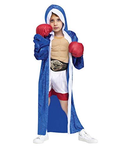 Horror-Shop Boxer Champion Kleinkinder Kostüm für Fasching S
