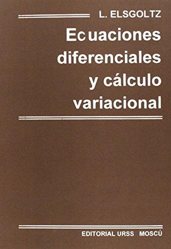 Ecuaciones diferenciales y calculo variacional