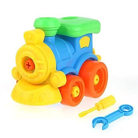 Chickwin-Demontage Montage Spielzeug Karikatur Tierpuzzlespiel DIY Spielzeug mit Werkzeug Pädagogisches