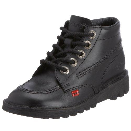 Kickers Unisex Kick Hi Core Junior Stiefel, Schwarz (schwarz / schwarz / schwarz) ,33