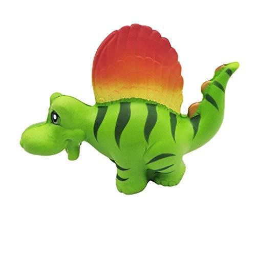 Hffan Dinosaurier Spielzeuge Langsam Steigend Quetschen Spielzeug Slow Rising Antistress Spielzeug Geschenk für Kinder Erwachsene Farbe Sahne Brot Duftend Schleppend Steigend Spielzeuge (Halloween Barbie Kuchen)