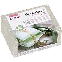 GLOREX 61600161glycerin Jabón, transparente, 10.5x 5x 8cm
