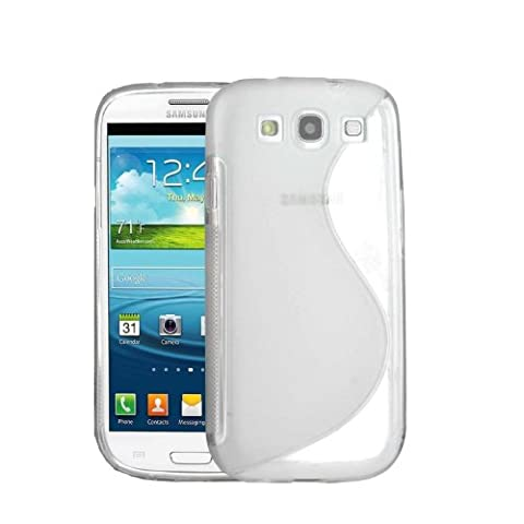 JAMMYLIZARD | Coque souple en silicone S-Line Cover pour Samsung Galaxy S3 (TRANSPARENT)