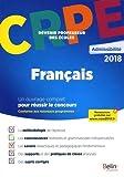 CRPE admissibilité 2018 Français