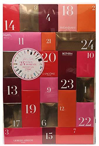 Loreal L'Oréal Paris Adventskalender 2018-24 Luxusmomente - Beauty - Kiehls - YSL - Biotherm - Lancome - Armani