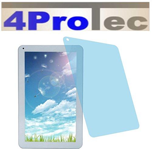 4ProTec 2 Stück GEHÄRTETE ANTIREFLEX Bildschirmschutzfolie für iRULU eXpro X1S 10,1 Displayschutzfolie