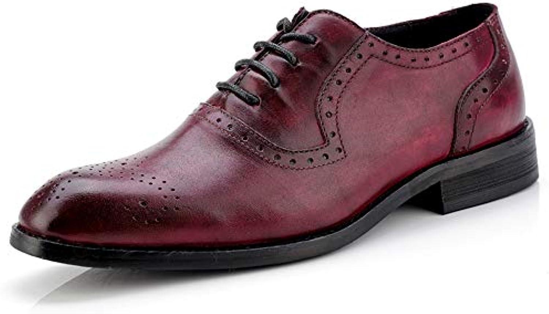 SRY-scarpe, Scarpe Stringate Uomo, Uomo, Uomo, Rosso (Wine), 40 | Grande Varietà  f3e04f