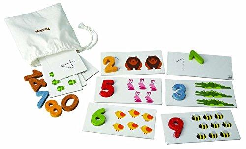 Imagen principal de Plantoys 1355165 - Set de aprendizaje de números del 1 al 10 [Importado de Alemania]