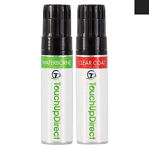 TouchUpDirect Ford Edge genau übereinstimmender Ausbesserungslack für Autos - UH Tuxedo Black Pearl - 0.5 oz. Topf (Edge-tuxedo)