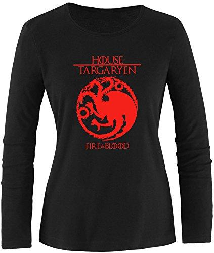 EZYshirt®  Game of thrones   House Targaryen   GOT   Damen ()