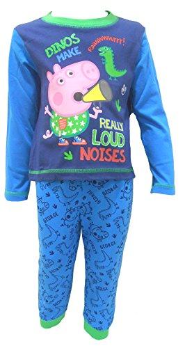 George Pig (Peppa Pig brother) Jungen Nachtwäsche Schlafanzug 86cm / 18-24 Monate