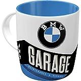Nostalgic-Art 43035 Retro Kaffee-Becher BMW - Garage, Große Lizenz-Tasse mit BMW-Motiv, Geschenk-Idee für Vintage-Liebhaber, 330 ml