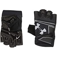 Under Armour Cool Switch Flux Guantes, Hombre, Negro y Gris, Medium