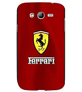 TOUCHNER (TN) Yellow Horse Back Case Cover for Samsung Galaxy Grand