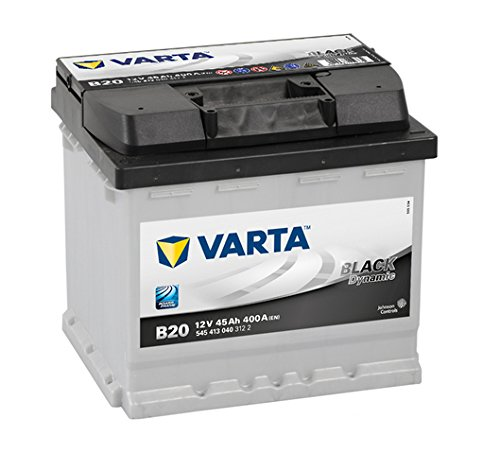 Varta Black Dynamic B20 Batterie Voitures, 12 V 45Ah 400 Amps (En)