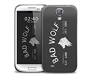 bad wolf grey Samsung Galaxy S4 GS4 protective phone case