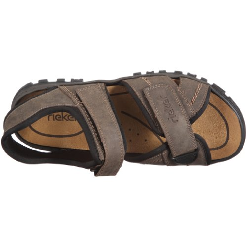 Rieker 25051 Sandals-Men, Herren Sandalen, Braun (tabak/schwarz/27), 46 EU -