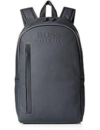 Hugo Boss Hyper_Backpack - 100% Polyurethane Back Pack Hombres Bolsas