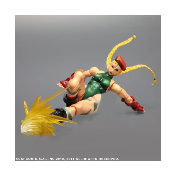 Square Enix Super Street Fighter IV - Figurita decorativa de Cammy 4