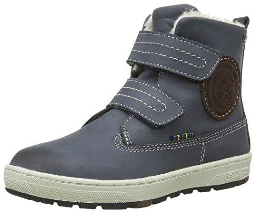 Lurchi Jungen Dobbi-Tex Desert Boots, Blau (Navy 12), 33 EU