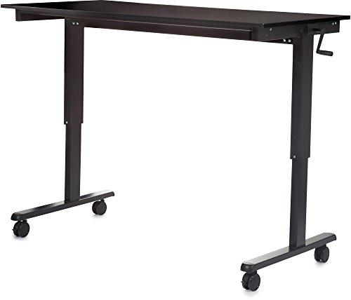 Manuell höhenverstellbarer Schreibtisch (Farbe: wählbar, Länge: 120 oder 150cm) - 3