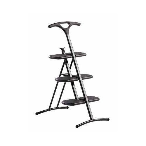 Kartell 700009 Folding Ladder Tiramisu Black