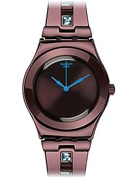 Swatch Damen-Armbanduhr SAPHRING Analog Quarz