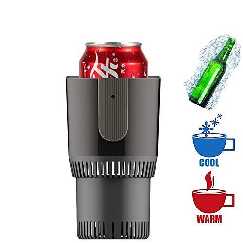 FUTNTCTL Car Cooler & Warmer Cup Portable, Refrigeration & Heating Getränkehalter Mini Kühlschrank Heizung Eistee-Maschinen Fast Ice Cooling Cup-Maschine für Home Office