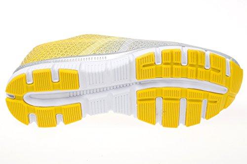 gibra, Sneaker donna Grigio (grigio/giallo)
