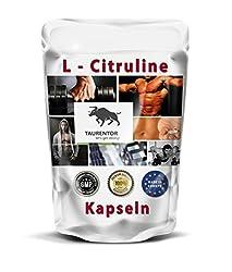 L Citrulin Kapseln - pharmazeutisch reines L-Citrulline in höchster Dosierung 150g