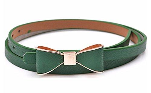 ladies-fashion-de-mujer-con-lazo-de-skinny-funda-de-piel-fina-cintura-cinturn-color-verde-talla