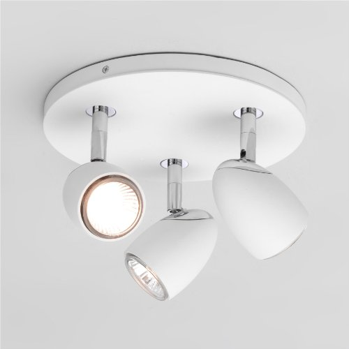 Ovale Triple Round, Bulbs NOT Included