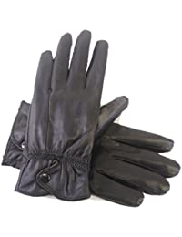 Ladies Thermal Lined Super Soft Fine Leather Warm Winter Gloves