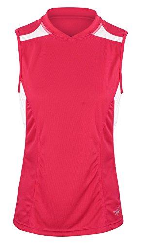 time-to-run-maglietta-da-corsa-veloce-a-senza-maniche-donna-44-persiano-rosa-bianco