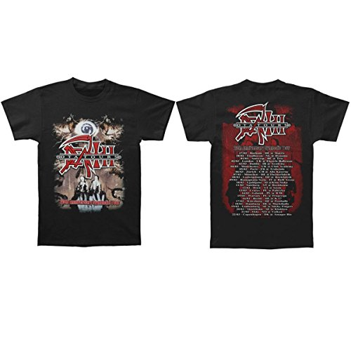 Death - DTA Symbolic 20th Anniversary Band T-Shirt (XXL, Schwarz) -