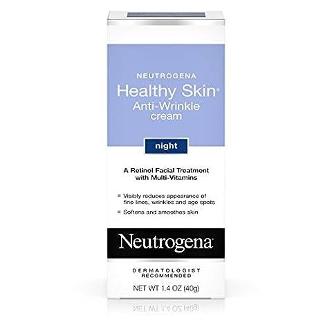 Neutrogena Crème anti-rides de nuit Healthy Skin - Traitement facial au rétinol - 40 ml