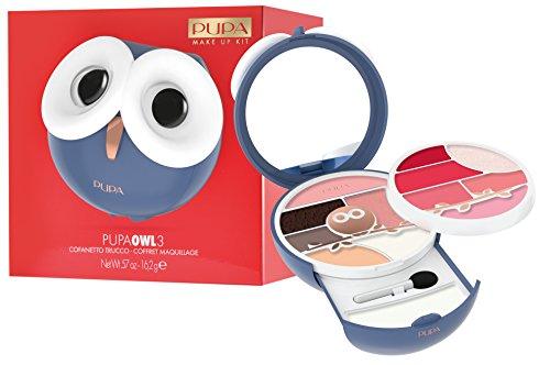 PUPA Trousse Owl 3012 Azul Maquillaje Y Cosméticos
