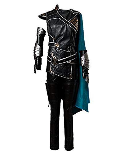 Kostüm Valkyrie - Manfu Thor 3 Ragnarok Valkyrie Outfit Full Set Cosplay Kostüm Damen M