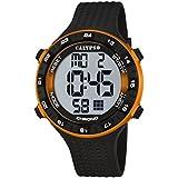 Calypso  watches K5663 - Reloj de cuarzo para hombre, correa de plástico color negro