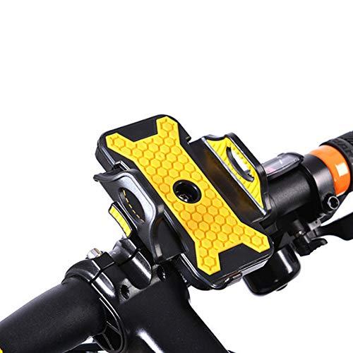 SJMLP Fahrrad-Handyhalter Universal Fahrrad Handyhalter Stehen 54mm-84mm Breite rutschfeste Fahrrad Handy Unterstützung Halterung Für Samsung S6 Für iPhone 7 6 Plus -